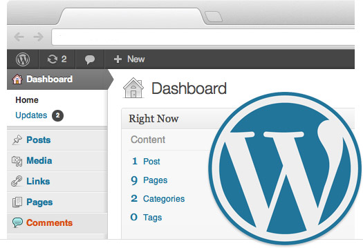 Screenshot-Wordpress-Backend